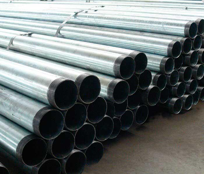Tubos de aço carbono galvanizado