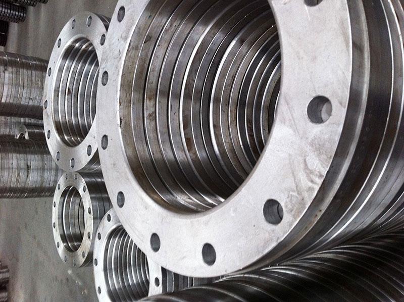 Principais aplicações flanges de aço